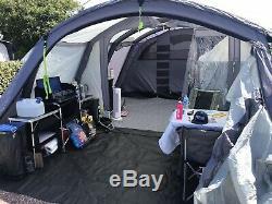 Tente Gonflable Pour Famille Kampa Bergen 6 Berth Large Air Pro