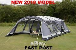 Tente Gonflable Pour Famille, Nouvelle Personne 2018 Kampa Studland 8 Personnes