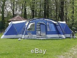 Tente Hybride Design Tente Tunnel Famille, 3 Dormir Rooms12 Personne Grande