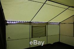 Tente Mur Avec Jack Poêle 6 Personne Extérieure Grand Family Shelter Camping 12'x10