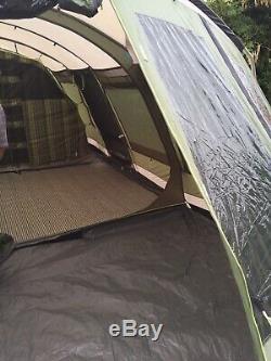 Tente Outwell Vermont Lp, Avec Empreinte, Tapis, Grande Tente Familiale