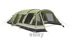 Tente Outwell Wolf Lake 7. Grande Tente Familiale + Tapis De Sol. Coton Technique