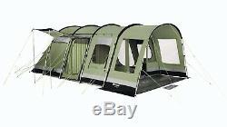 Tente Polycoton Outwell Wolf Lake 5 Grande Tente Familiale Premium
