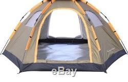 Tente Pour Camping En Plein Air Randonnée Grande Capacité Pop Up Ombre De Soleil De Haute Qualité Nouveau