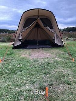 Tente Robens Trapper 2019 Utilisé Deux Fois, 4 Man Camping Toile Polycoton Tente Hot