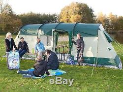 Tente Skandika Hurricane 8 Personnes, Neuve, Grande Tente 8 Personnes