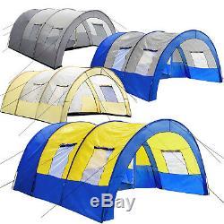 Tente Tunnel 6 Personne Grand Groupe Famille Colonne D'eau Camping Nouveau
