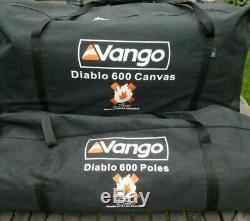 Tente Vango Diablo 600xl Pour 6 Personnes 2 Grandes Chambres Salon Et Véranda