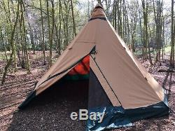 Tentipi Zirkon 9 Cp Tipi Tente, Camping, Famille, Grande Tente