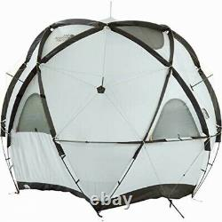 The North Face Geodome 4 Tente Avec Empreinte Nv21800 Safran Jaune