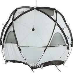 The North Face Nv21800 Geodome 4 Tente Safran Jaune 6 Sondage 3 Saison 4 Personne