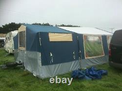 Trailer Tent Conway Classic Avec Grand Auvent 6-8 Naissance