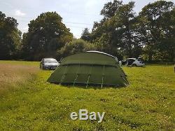 Très Grande Tente Familiale Buckville 700 7/8 M + Tapis Buckville Tout Comme Neuf