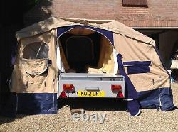 Trigano Oceane 315 Gl (modèle Cuisine) Tente Remorque, Avec Grand Auvent