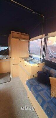 Trigano Randger 575tc Folding Camper Trailer Tent 6 Berth Large Auvent Plus Pod