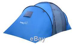 Turnermax Outdoor 4/6 Person Two Grande Chambre À Coucher Camping Familial Randonnée Nouvelle Tente