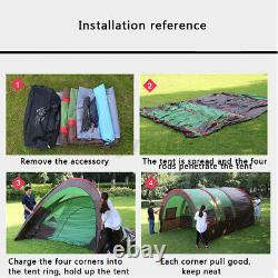Uk Waterproof Outdoor Camping Tents Jardin Randonnée Tente Portable Grand 8-10 Homme