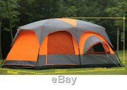 Ultra Grande Qualité Un Hall Deux Chambres Peut Accueillir 12 Tente De Camping En Plein Air