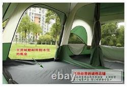 Ultra Grande Tente De Camping De Haute Qualité Un Hall Deux Chambres 6 8 10 12 Extérieur