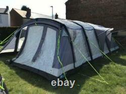 Up Twice 2018 Kampa Croyde 6 Man Person Berth Inflatable Large Air Tent