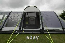Utilisé Deux Fois Kampa Bergen 6 Berth Grand Air Pro Personne Homme Famille Tente Gonflable