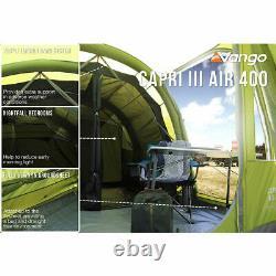 Vango Capri III 400 Airbeam Tente Familiale Gonflable Pour 4 Personnes