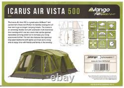 Vango Icarus Air 500 Vista Tente 5 Personnes Prix De Vente Conseillé 750 £