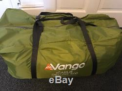 Vango Icarus Deluxe 500 5 Tente Famille Berth Avec Lits Tapis, Empreinte Et Air
