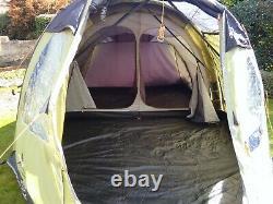 Vango Infinity 400 Tente Airbeam Utilisée Deux Fois, Poêle De Camping, Porta Loo Etc