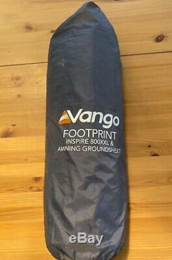 Vango Inspire 800 XXL 8 Personne Tente Avec Porte Porche