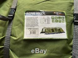 Vango Inspire 800 XXL Tente Avec Porte Porche