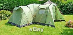 Vango Kasari 800 Excellente Condition Luxe 8 Tente De Naissance Utilisée Qu'une Seule Fois