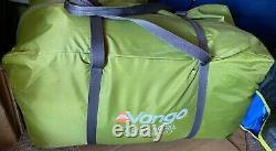Vango Orava 600xl 6 Personnes Superbe Familletent Avec 3 Chambres / Grande Zone De Porche