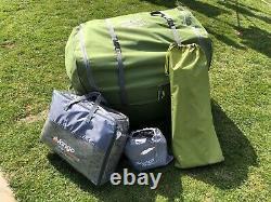 Vango Serenity 600xl Airbeam Tent Elite Collection. Très Grande Tente Familiale