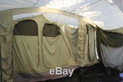 Vango Tente Pour Homme Tente En Toile Pour 8 Personnes Très Grande Et Lourde