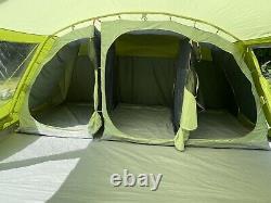 Vango Très Grand 6 Personnes Tente De Famille Orava 600xl Tente Avec Grand Porc Vert
