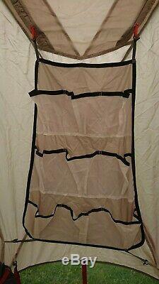 Vaude Badawi II Sable Tente, 4berth, Système De Ventilation, Une Grande Tente Familiale! 17 KG