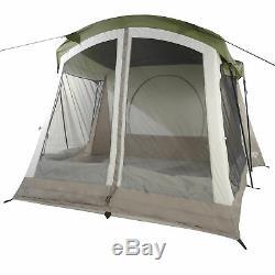 Wenzel Klondike Grande Extérieure 8 Personne Tente De Camping Avec Salle De L'écran, Vert