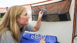 Yourte 8 Personne Tente De Camping Avec Grande D'accès Facile Vestibule Randonnée En Plein Air Grand Camp