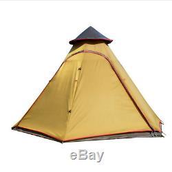 Yourte De Luxe Mongole Tente Enfant En Plein Air Grand Abri Eco Glamping Camping Tipi