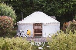 Yurt 6m De Diamètre Avec Toile De Toit Neuve